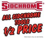 All Sidchrome Tools 1/2 PRICE @ Repco, Starts 24 May - Ends 03 Jun