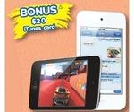 "iPod Touch 8GB $188 with Bonus $20 iTunes Card, GVA 4.3"" Slimline GPS $49 at The Good Guys"