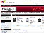 Fox Racing V4 Men's T-Shirts $13 + $6.50 S&H Australian Motorcycle Apparel