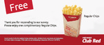 FREE Regular Chips from Red Rooster