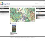 $6.85 and Free Shipping Dandenong Ranges Outdoor Recreational Map by Mapstart