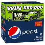 Pepsi/Schweppes 24 Can Varieties $10.00 at Woolworths until Sunday