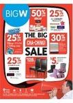 BigW The Big Cha Ching Sale - Starts Thursday 6th June