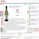 Wither Hills Sauvignon Blanc 2011 750ml for $8.99 at Kemenys. (Delivery Charges Apply)