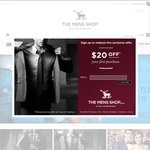 THE MENS SHOP Get $50 off When You Spend $150 or More