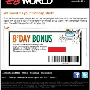 eb games coupon code australia