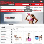 Xpeed Commercial Gym Ball 55/65/75CM for Only $40 with Free Gym Towel and Free Shipping