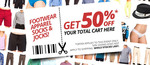 Catch of The Day 50% Sale on Selected Items (184 in Total) Excluding P+H
