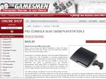 PS3 Slim $399 if You Trade in PS2 Console for $100 at The Gamesmen
