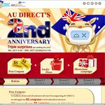 DealeXtreme AU Direct 2nd Anniversary Offers ($5 Coupon New Customers, $8 Coupon Old Customers)
