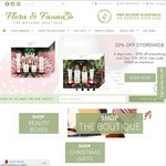 20% off Everything at Flora and Fauna, All Natural Cosmetics and Skincare
