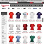 Various National Team Soccer Jerseys $20 Each (Plus $9.50 Flat Rate Delivery) at Fangear.com