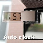 Transparent LCD Clock & Suction Cap US $0.70 (AUD $0.96) Delivered @ Newfrog
