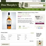 Talisker Port Ruighe Scotch Whisky 700ml for $80.00 Pickup or $87.00 Delivered @ Dan Murphy's