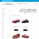 [OzB Exclusive] 20% off Everything with Free Shipping across Australia @ Modelcarsales.com.au