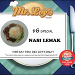 Mr Loys Puff $6.00 Nasi Lemak (Melb) This Sat Only 19/12/2015