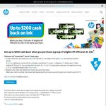 Up to $200 Cash Back on HP Office Jet XL Ink (Must Buy 2 Sets)