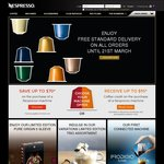 FREE Delivery on All Orders @ Nespresso