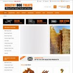 Healthy Dog Treats: 20% off All Treats Online