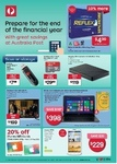 "SanDisk Ultra 64GB MicroSDXC $29.99, 31.5"" HD LED TV $199, Prepaid TravelSIM+ $24.95, TDK 64GB USB 3.0 $29.99 @ Australia Post"