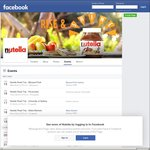 Nutella Road Trip - Free Nutella Dishes (NSW/VIC)