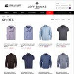 Jeff Banks: Men's Shirts - 2 for $80 + Free Shipping
