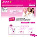 Free $5 Voucher @ Priceline - Join 'Sister Club' (Free to Join)