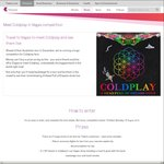 Win 1 of 5 Trips for 2 to Las Vegas to See Coldplay Live (Includes Meet & Greet + Backstage Tour) from Telstra