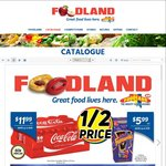 [SA] Foodland: Coke 375ml 20pk $12, Pepsi 1.25L $1.15, Mars Ice Cream 6pk $3.99, Drumstick 24pk $20, Cold Power 2KG $7.49 + More
