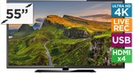 "Kogan 55"" 4K LED TV (Ultra HD) Built with LG Panel. $569 + Shipping. Pre-Sale, Ships Nov"