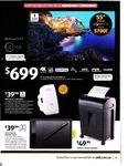 "55"" Bauhn 4K Ultra HD LED LCD Smart TV $699, 'One by Wacom' Graphic Tablet $39.99, Medion Gaming PC $1999 + More @ ALDI"