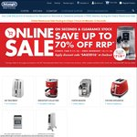 DeLonghi Discount on Seconds & Clearance Products + FREE Delivery