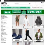ASOS Further Reductions up to 70% off (Spend over $40 Free Shipping)