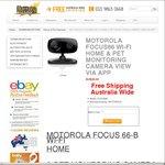 Motorola Wireless Camera Wi-Fi Focus-66B - $29.00 + Free Delivery @ Battery Shack
