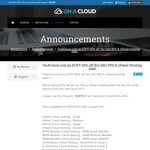 On A Cloud 60% off EOFY Sale on VPS & cPanel Hosting