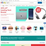 eBay 15% off Sitewide (Min $75 Spend, Max $300 Discount), 5pm-Midnight