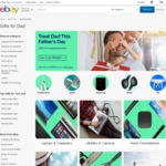 Upcoming: eBay Fathers Day Sale 20% off Selected Stores - Starts 21 August