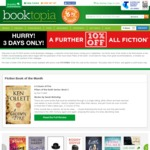 10% off Fiction Books - Booktopia