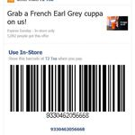Free French Earl Grey Cuppa @ T2