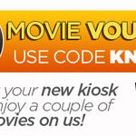 Free Video Ezy Express Kiosk $10 Movie Voucher