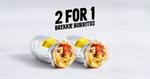 BOGOF Breakfast Burrito $6.50/$7.50 @ Guzman y Gomez (before 11am 16/4-18/4)