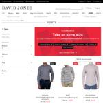 Many Men's Shirts 60% off (Ben Sherman $23.40, Van Heusen $23.40, Calvin Klein $29.40) @ David Jones