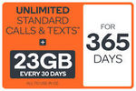 Kogan Mobile Unlimited Prepaid 365-Day SIM Plans 23GB $252.08, 16GB $203.44, 7GB $164.48, 3GB $114.88 @ Dick Smith eBay
