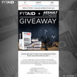 Win an Assault AirBike Worth $1,799, Fitaid Fridge & LifeAid Products from Fitaid Australia