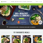 7 Meals for $49 + Free Random Meal @ Youfoodz (New + Existing Customers)
