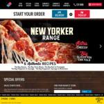33% off Traditional/Premium Pizzas @ Domino's via Mastercard Debit Rewards