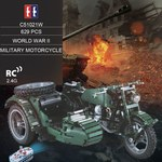 EE C51021W 629 PCS WWII Military Motorcycle RC Building Blocks Toy US $42.99 (~AU $60) (Was US $85.99) Delivered @ Funyroot
