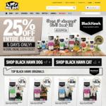 25% Off Black Hawk Dog/Cat Food @ My Pet Warehouse