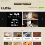 20% off Storewide @ Graina Bulk Food Store