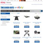 Weber Family Q $565.25, Weber Q $304.47, Weber Baby Q $232.90 (Free C&C or + Delivery) @ The Good Guys eBay